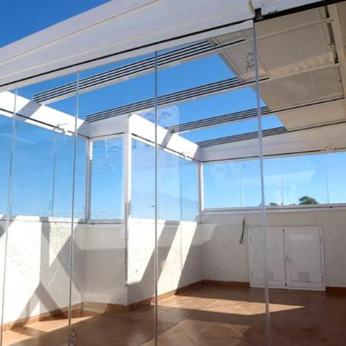 Serindan cerramientos de aluminio for Cerramiento aluminio terraza